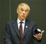 Internet darling candidate Ron Paul